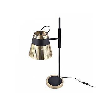 Maytoni Beleuchtung Trento moderne Tischleuchte, Messing