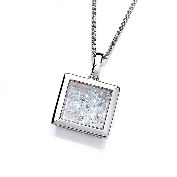 Cavendish French Mini Square Celestial Pendant without Chain