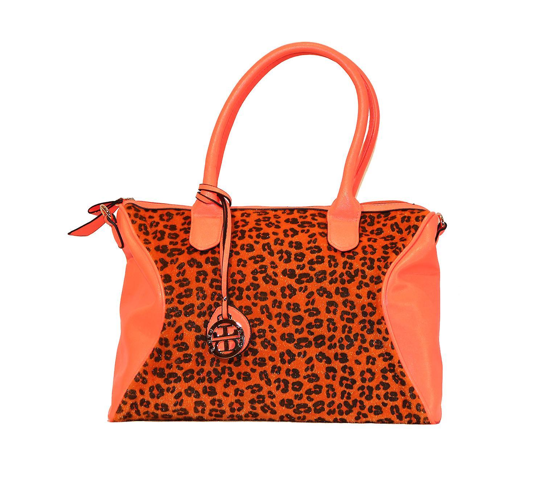 Waooh - mode - handväska stil Leopard Tifa