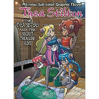 Thea Stilton Graphic Novels #8 - The Thea Sisters and the Big Storm by
