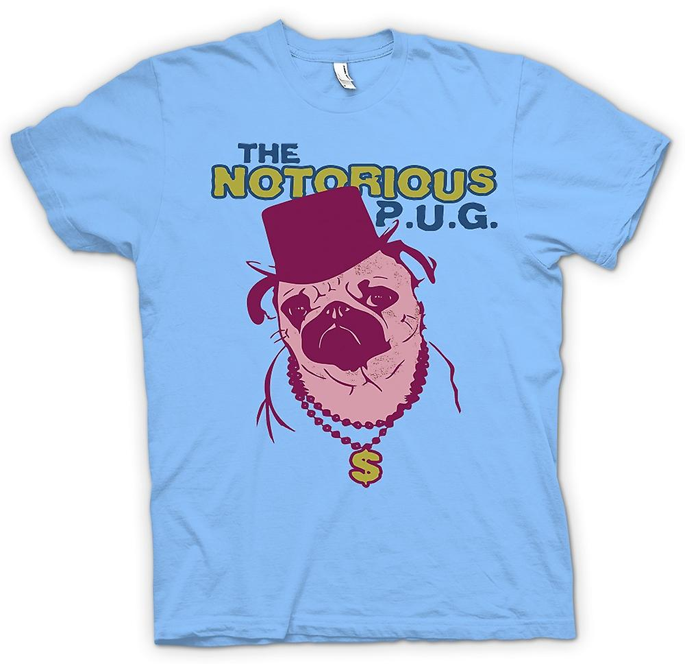 Mens T-shirt - The Notorious Pug
