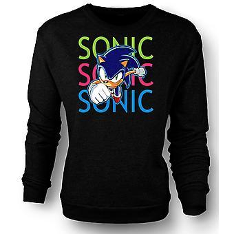 Mens Sweatshirt Sonic The Hedgehog - Gamer