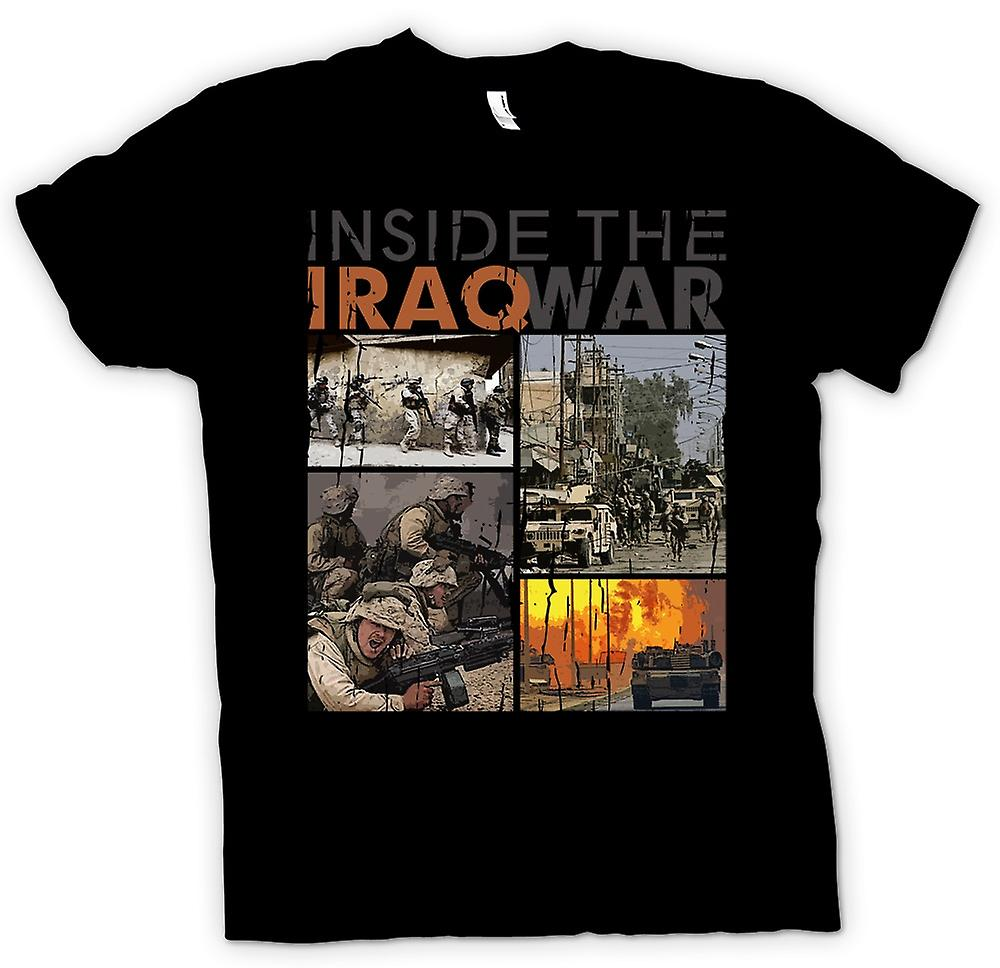 Mens T-shirt - Inside The Iraq War - Military Inspired