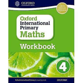 Matemática de primário internacional Oxford: Grau 4: pasta de trabalho 4