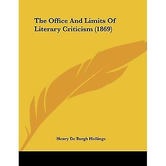 O escritório e os limites da crítica literária (1869)
