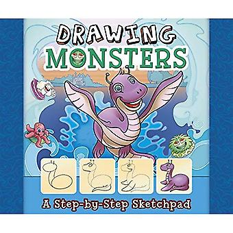 Drawing Monsters: A Step-By-Step Sketchpad (My First Sketchpads)