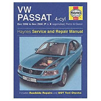 VW Passat (96-00) Service and Repair Manual (Haynes Service and Repair Manuals)