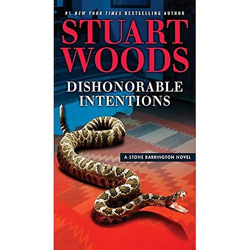 Dishonorable Intentions (Stone Barrington Novels)