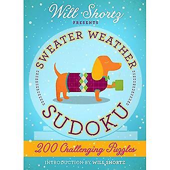 Will Shortz présente pull météo Sudoku: de 200 Puzzles difficiles: difficile Sudoku Volume 2