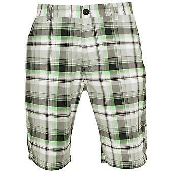 Urban Classics Herren Shorts Big Checked