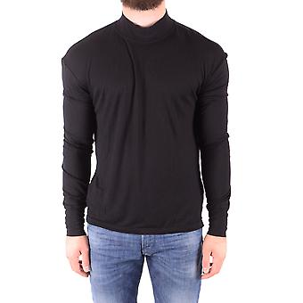 Diesel Black Viscose T-shirt