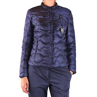 Blauer Blue Nylon Outerwear Jacket