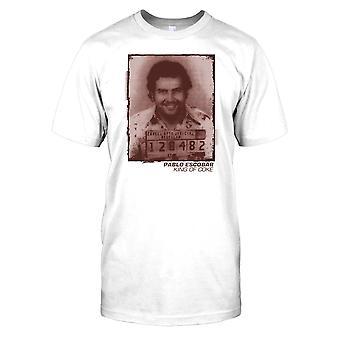 Pablo Emilio Escobar Gaviria - kungen av koks Kids T-shirt