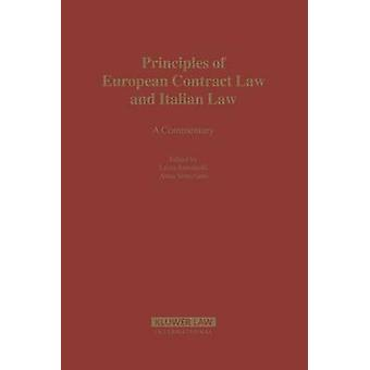 Principles of European Contract Law and Italian Law by Antoniolli