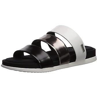 Calvin Klein Womens Dalana Open Toe Casual Slide Sandals