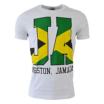 2015-2016 Jamaica Fan Tee (White)