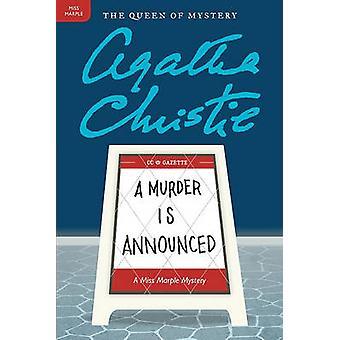 A Murder Is Announced by Agatha Christie - 9780062073631 Book