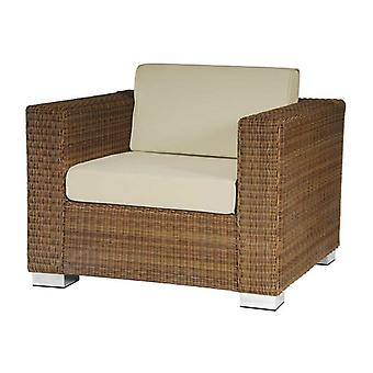 Alexander Rose San Marino Rattan Lounge Chair with Cushions