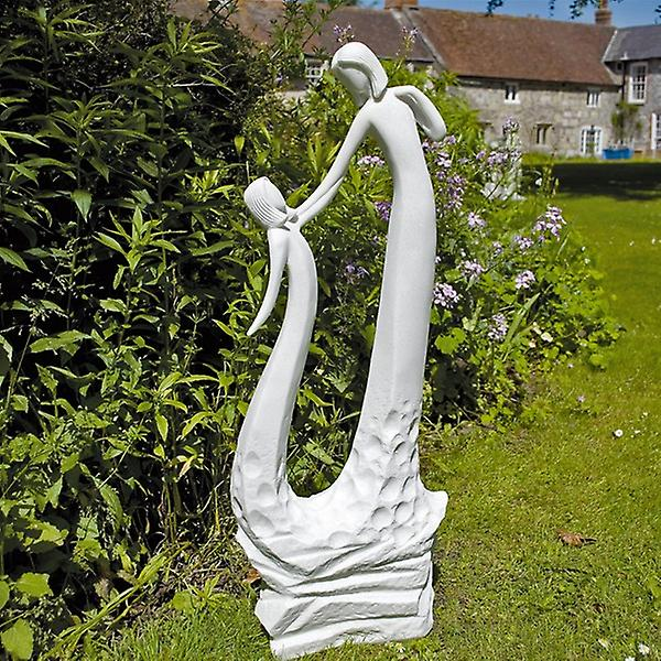 Solstice Sculptures Motherfts Love White Statue