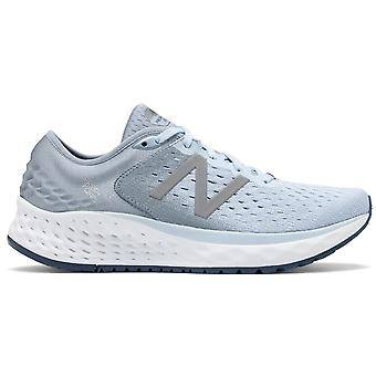 New Balance 1080v9 Fresh Foam Womens B Width (standard) High Cushioning Road Running Shoes Air Vintage Indigo