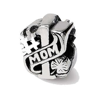 Sterling Silver Reflections #1 Mom Bead