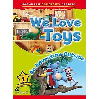 Macmillan per bambini lettori amiamo giocattoli un'avventura fuori livello 1 da Paul Shipton