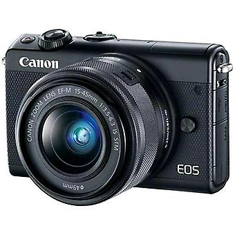 Canon eos m100 black + ef-m 15-45 mm