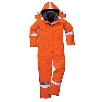 Portwest araflame insulated coverall af84