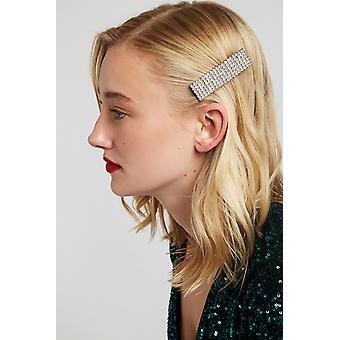 Louche Brice All Crystal Hair Clip Diamond