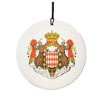 Monaco Coat Of Arms Car Air Freshener